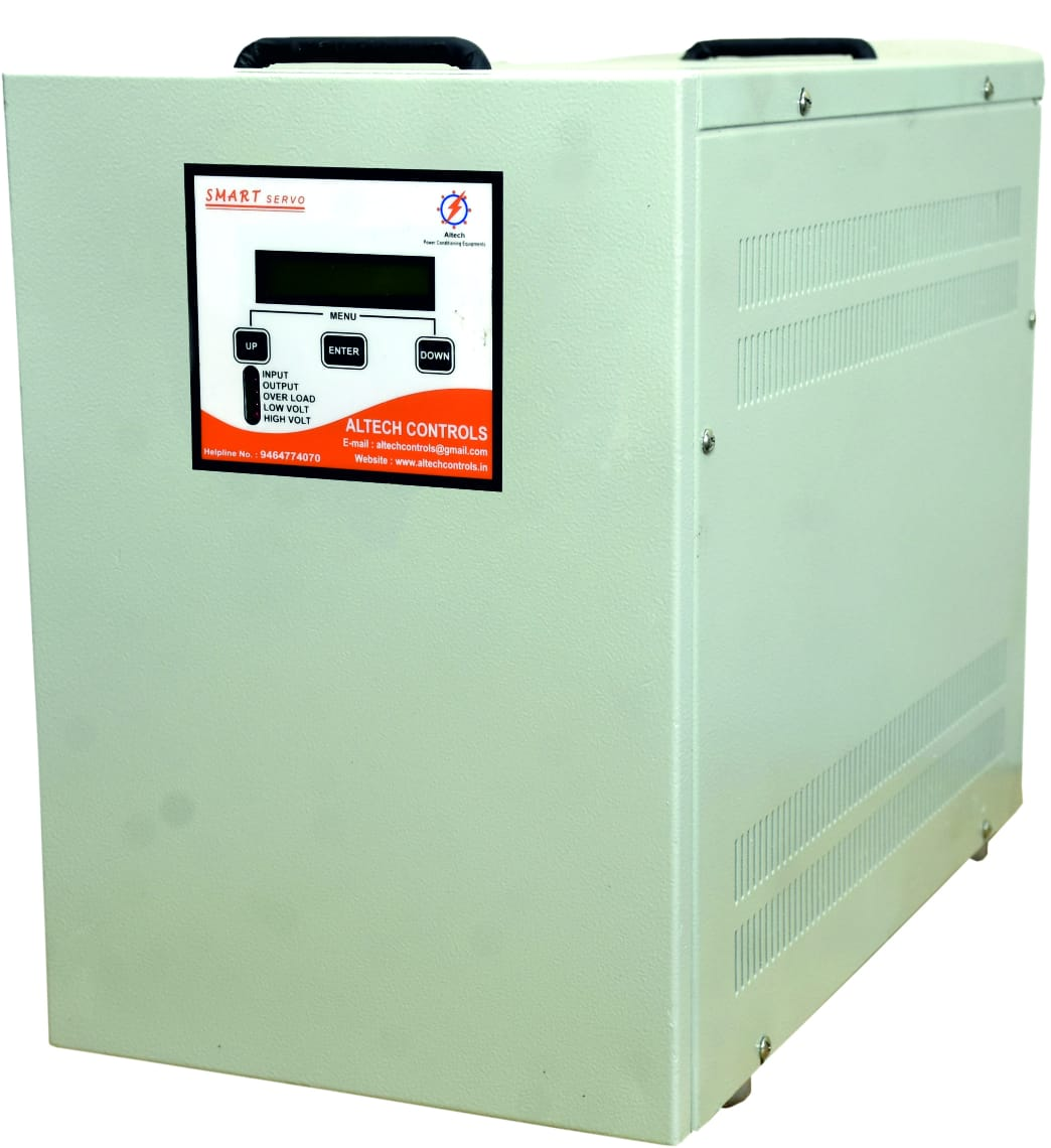 One Phase Air Cooled Servo Stabiliser | Altech Controls | Air Cooled Servo Stabiliser manufacturer in Panchkula - GLK2850