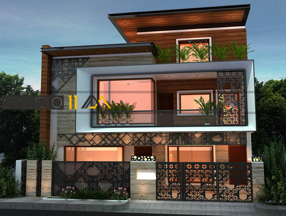 ARCHITECTURE | studio11am | architects in chandigarh  - GLK2576