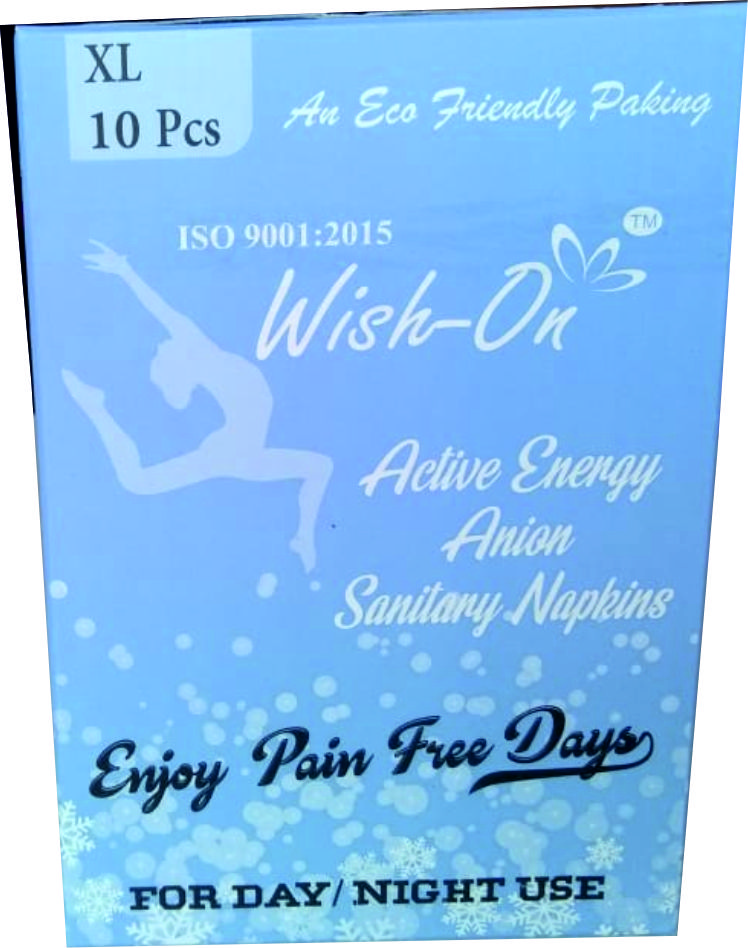 Wish On Extra Large 10 Piece  | D N R Health Care  | sanitary pads manufacturer in india  - GLK1641
