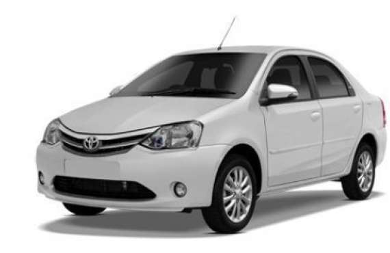 Etios A/C  Rs.3,300/-*, Hire Etios Car Bangalore