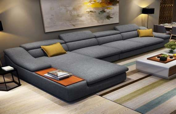 L SHAPE SOFA SETS, Sofa L shape in Zirakpur, L shape sofa set in Zirakpur, l shape sofa set design for small living room