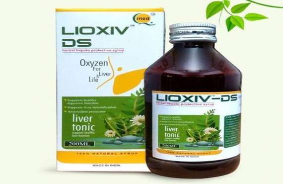 LIOXIV-DS SYRUP, Ayurvedic liver tonic manufacturer in Chandigarh
