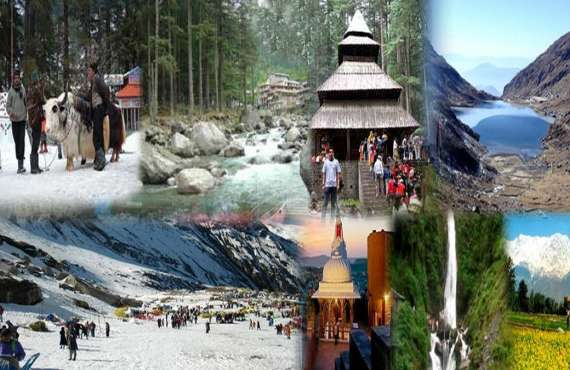 Package - 1, MANALI- DHARAMSHALA- DALHOUSIE  AMRITSAR tour packages