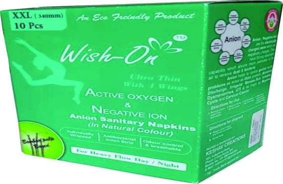 Wish On Extra Extra Large 10 Piece , sanitary pads manufacturer in india