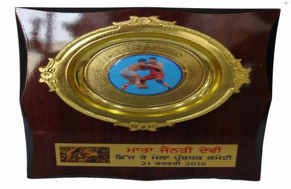 WOODEN 529   , Wooden trophy manufacturer in Mohali