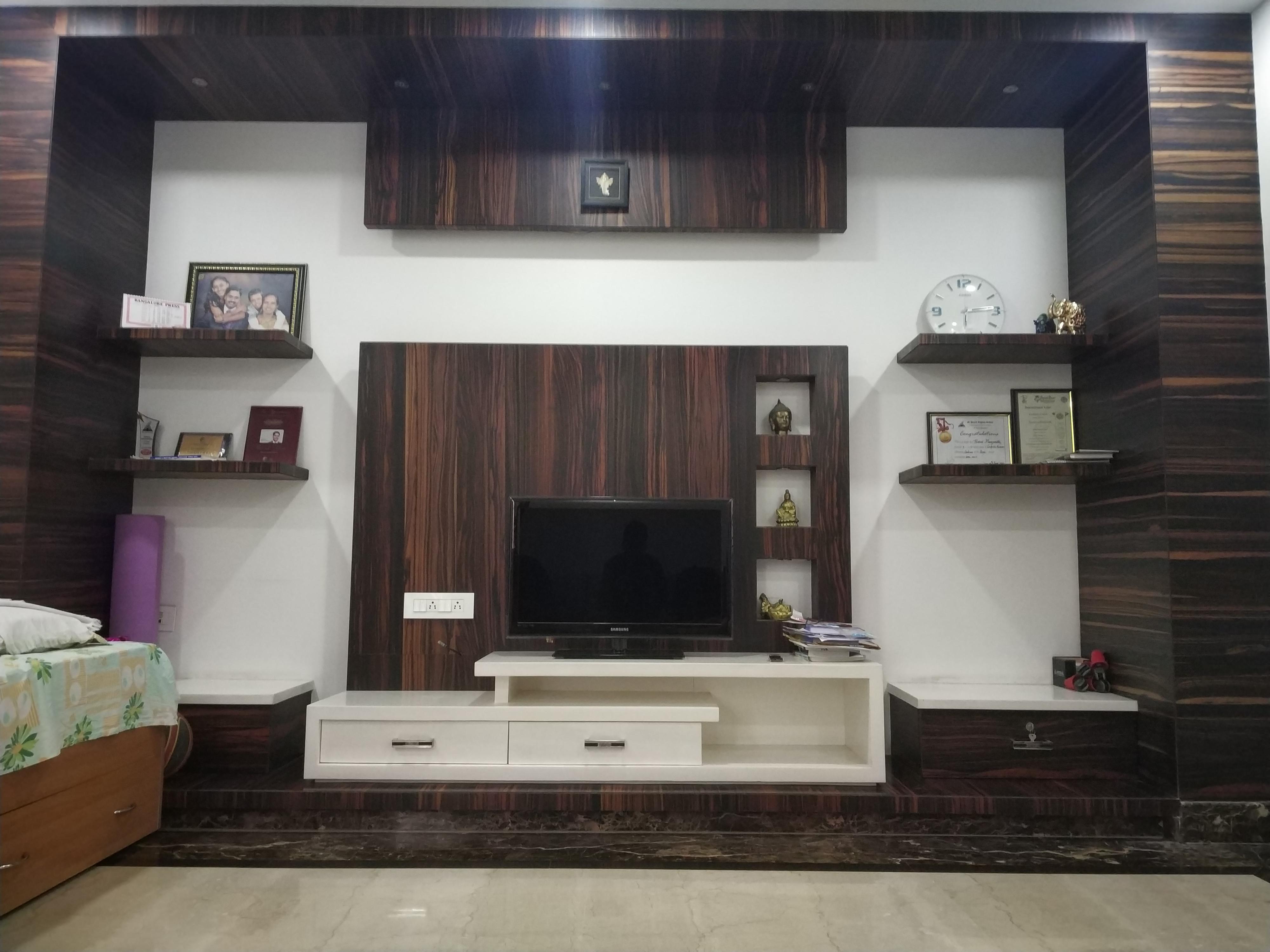 Led Wall Unit V Designers Vdesigners In Yelahanka Interior Designers Near Me Customized Led