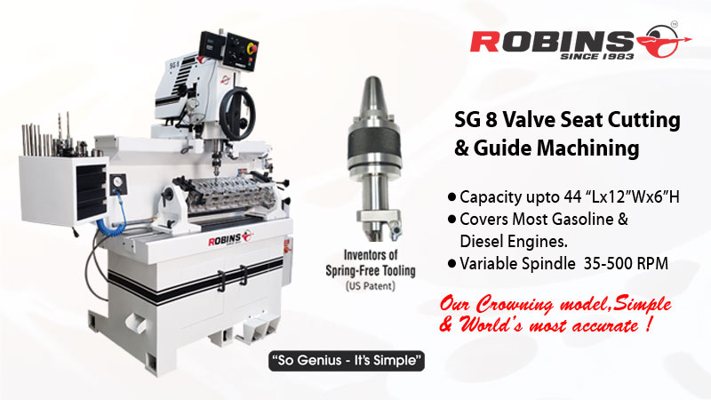 Valve seat cutting machine  | Van Norman Machine(India) Pvt. Ltd | seat and guide machine , Valve seat cutting machine  - GL79025