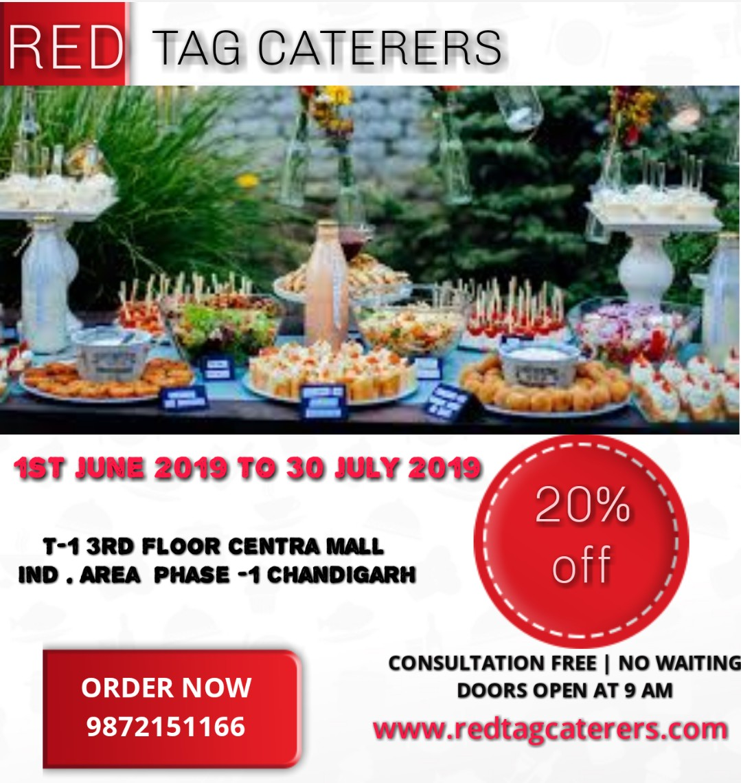 Best caterers in Mohali    Red Tag Caterers   Best catering in Mohali, food and beverage in Mohali, best vegetarian catering in Mohali,  - GL43320