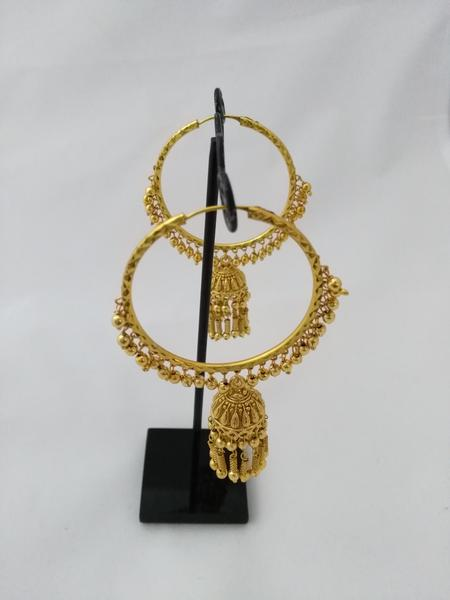 bali earrings artificial in mumbai  | IndiHaute | bali earrings artificial for saree in mumbai , bali earrings artificial for daily use in mumbai , bali earrings artificial for style in mumbai , bali earrings artificial for shopping in mumbai  - GL76244