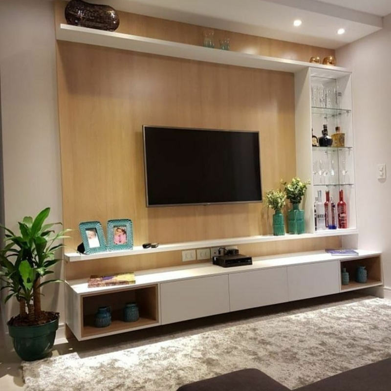 Lucky Furniture, LCD wooden Designs in Zirakpur, LCD panel images, LCD TV cabinet, wooden Design on wall for LCD, bedroom modern LCD panel wall modern LCD panel, LCD TV panels Designs for living room and bedroom.