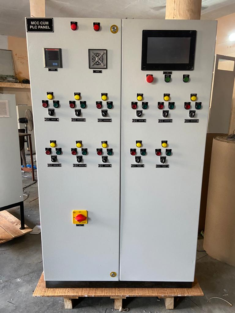 MCC CUM PLC Indoor Panel  | Helical Engineers | Electrical panel in Mohali , Electrical Automation in Mohali  - GL99828