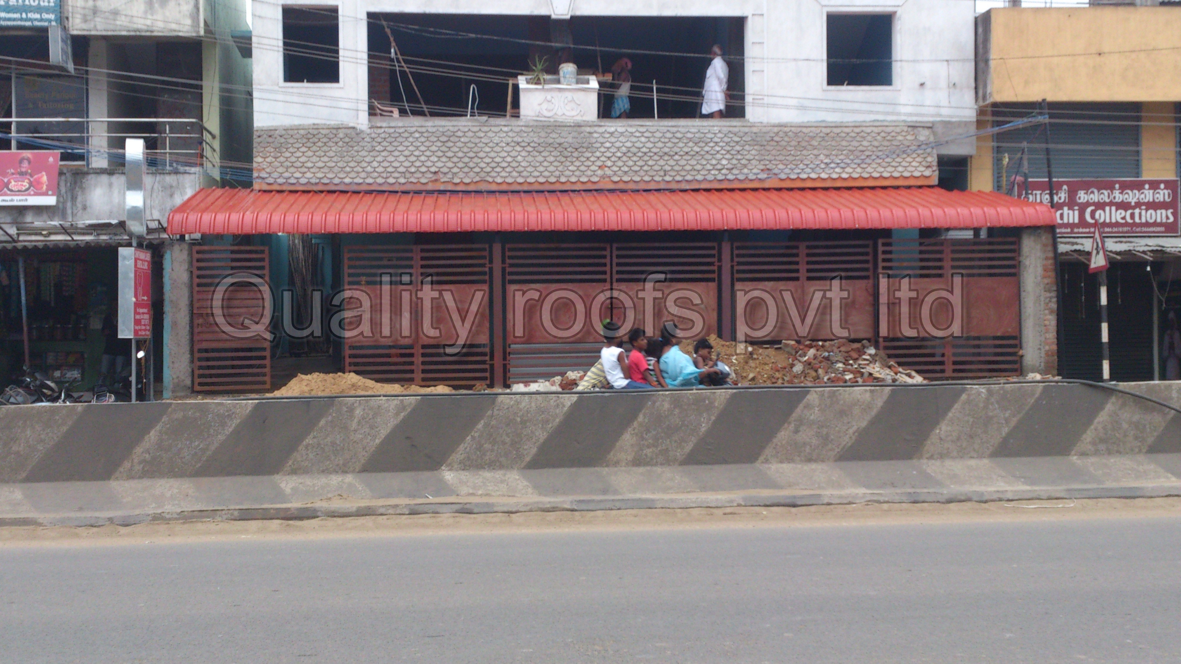 Roofing Shed Work In Chennai | Quality Roofs Pvt Ltd | Roofing Shed Work in Chennai, Polycarbonate Shed, Roofing Chennai, Roofing Sheet Installation Work , Polycarbonate Roofing Sheets - GL57097