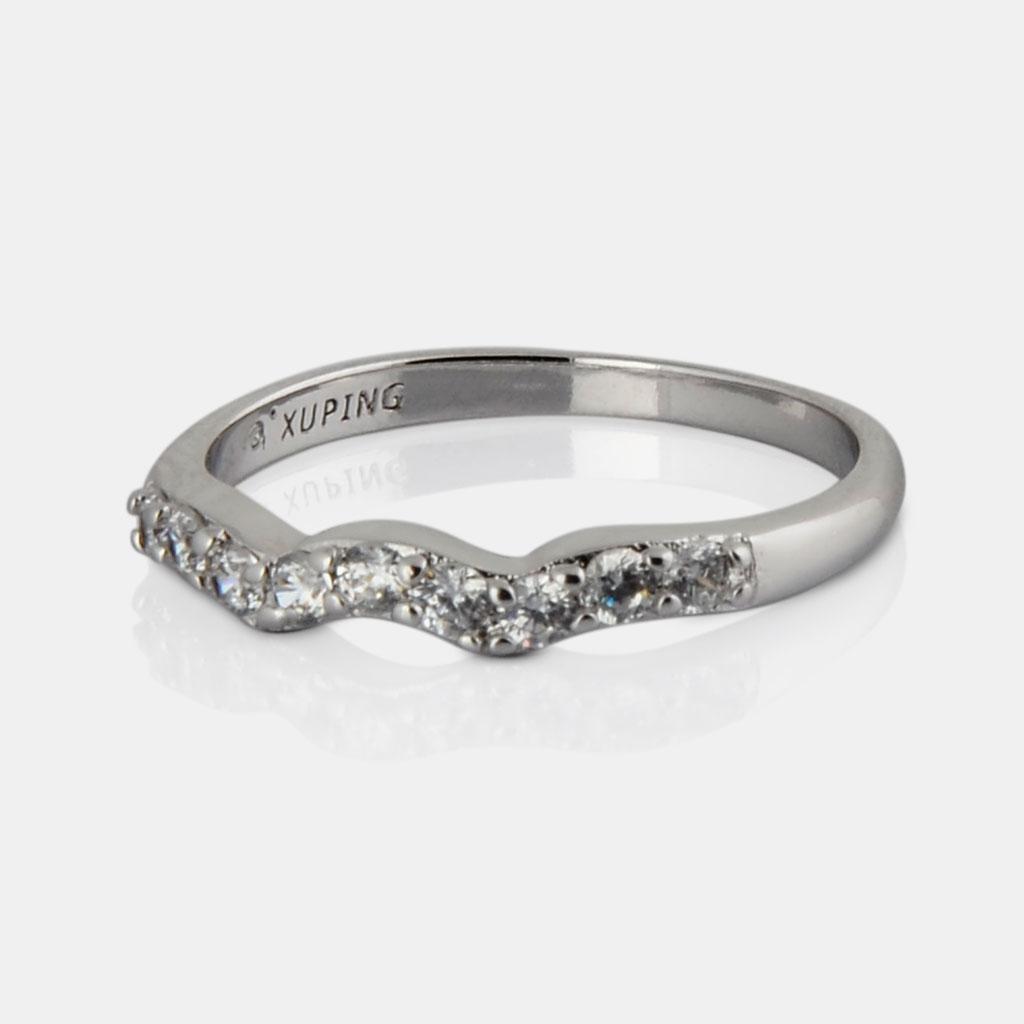 IndiHaute, american diamond ring for girl in delhi , american diamond ring for ladies in delhi , american diamond for finger in delhi , american diamond ring in sliver in delhi