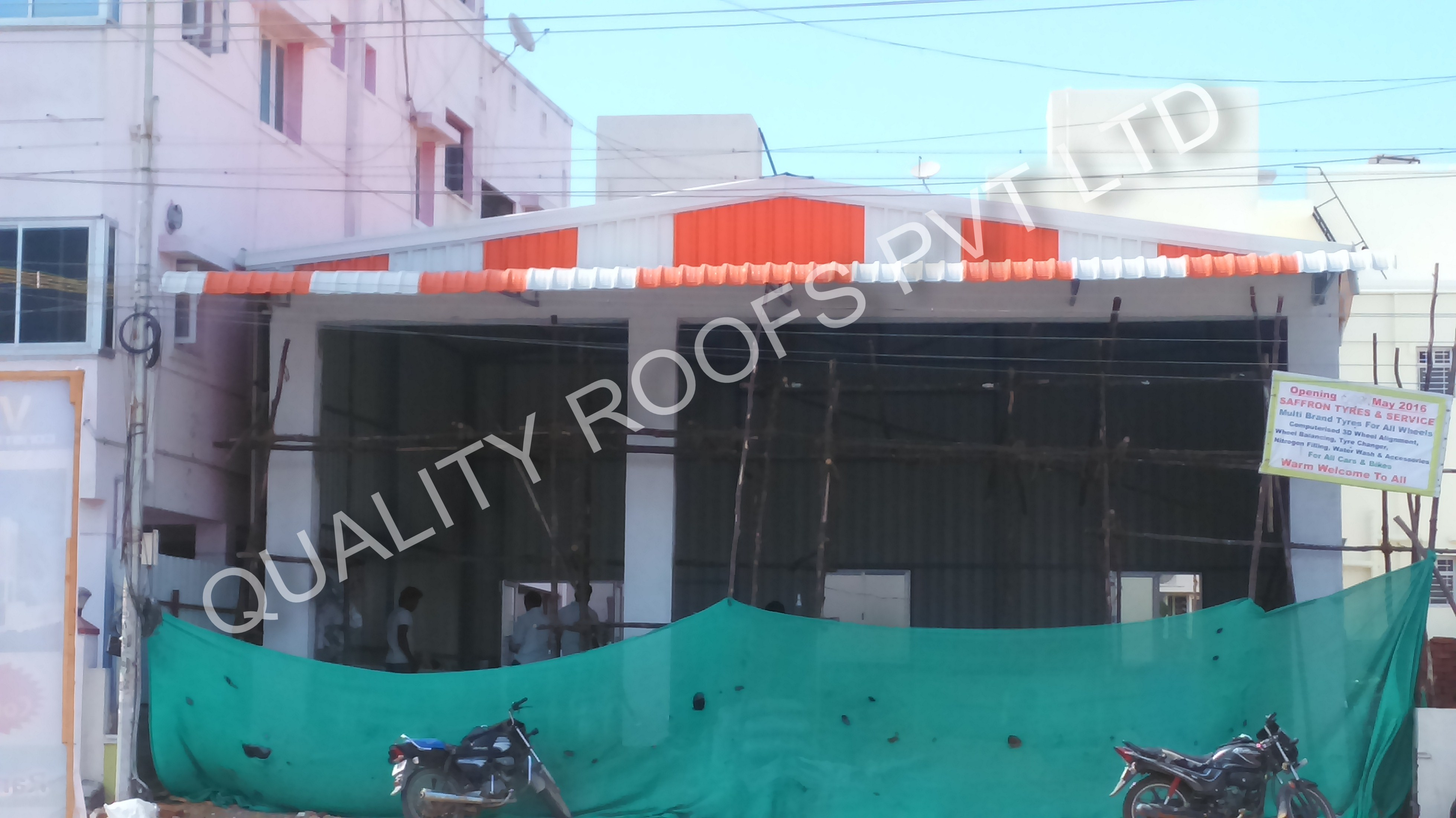 Metal roofing Construction in chennai | Quality Roofs Pvt Ltd | Metal Roofing Construction In Chennai, Metal Roofing Contractors In Chennai, Industrial Roofing Contractors In Chennai, Terrace Roofing Contractors In Chennai, Badminton Roofing Contractors In Chennai - GL56786