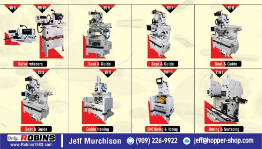 Quality - design -personal -service by Robins  | Van Norman Machine(India) Pvt. Ltd | seat and guide machine ,cylinder boring and surfacing machines, valve seat and guide machine ,valve refacer,guide honing machines, mini cnc boring and honing machine  - GL87364