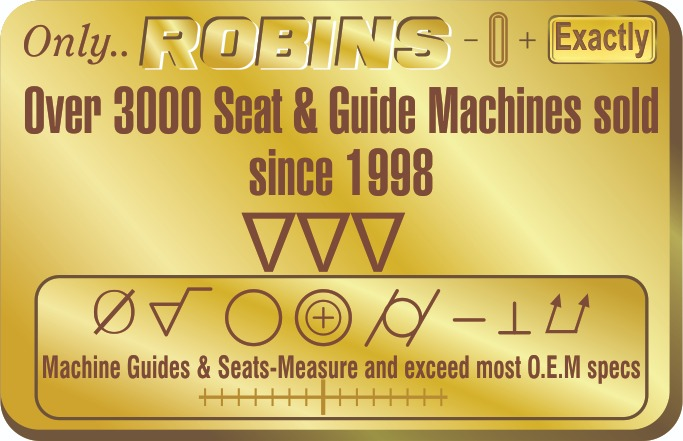 Over 3000 Seat and Guide Machine sold