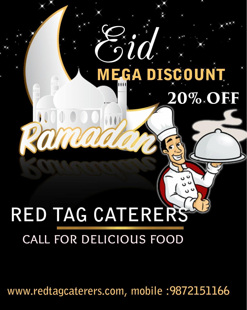 Celebrate Eid al Fitr in Chandigarh  | Red Tag Caterers | Celebrate Eid al fitr in Chandigarh,  - GL43328