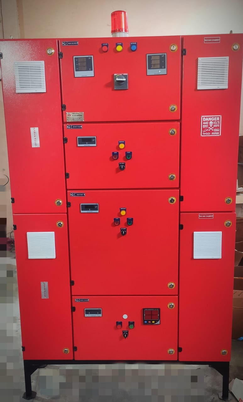 Fire Fighting MCC Panel | Helical Engineers | Electrical panel in Mohali   - GL99799