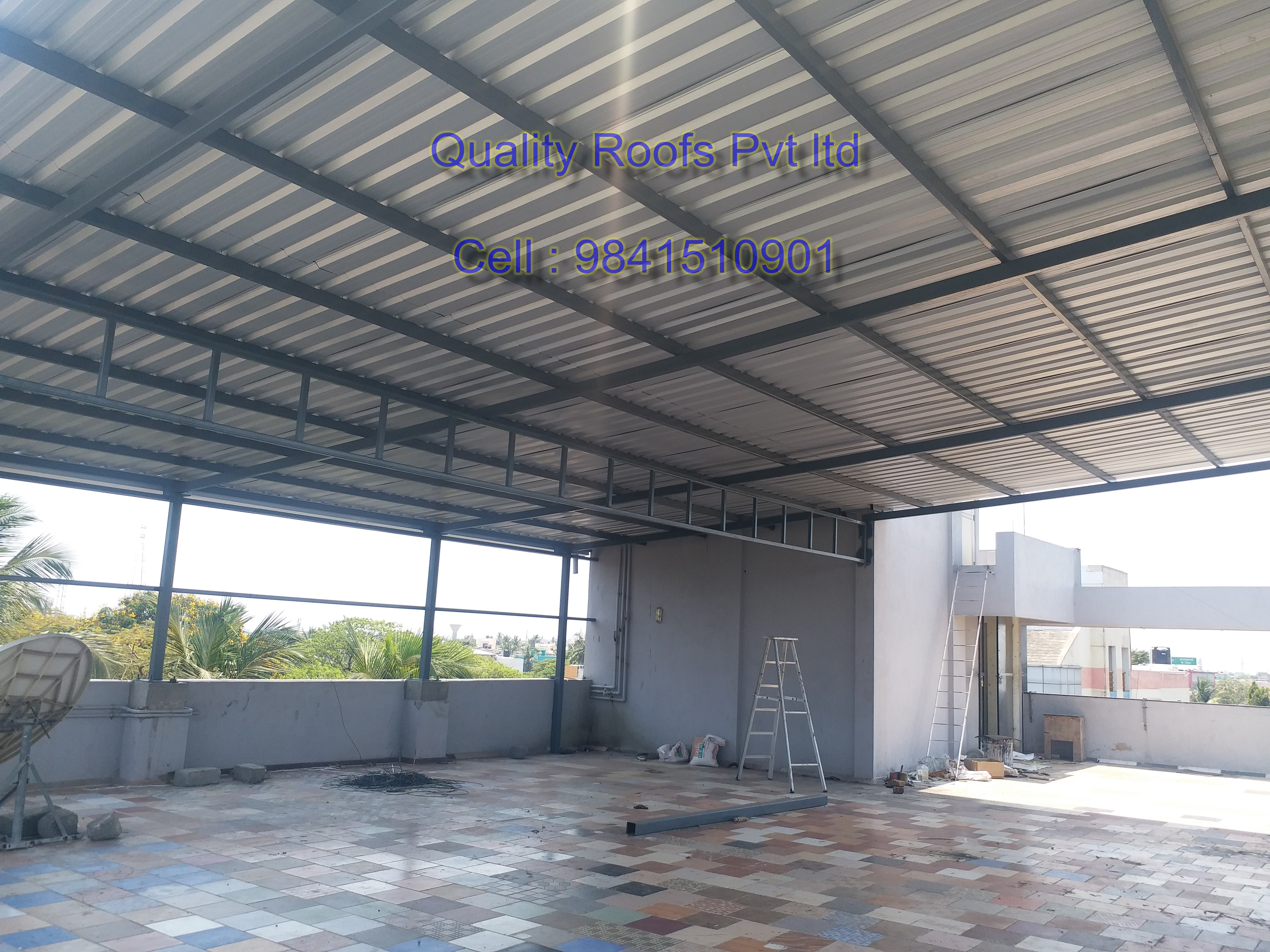 Quality Roofs Pvt Ltd, Terrace Roofing Contractors In Chennai,Roofing Construction In Chennai,Terrace Roofing Construction In Chennai,Best Terrace Roofing Service In Chennai,Best Roofing Fabricators In Chennai