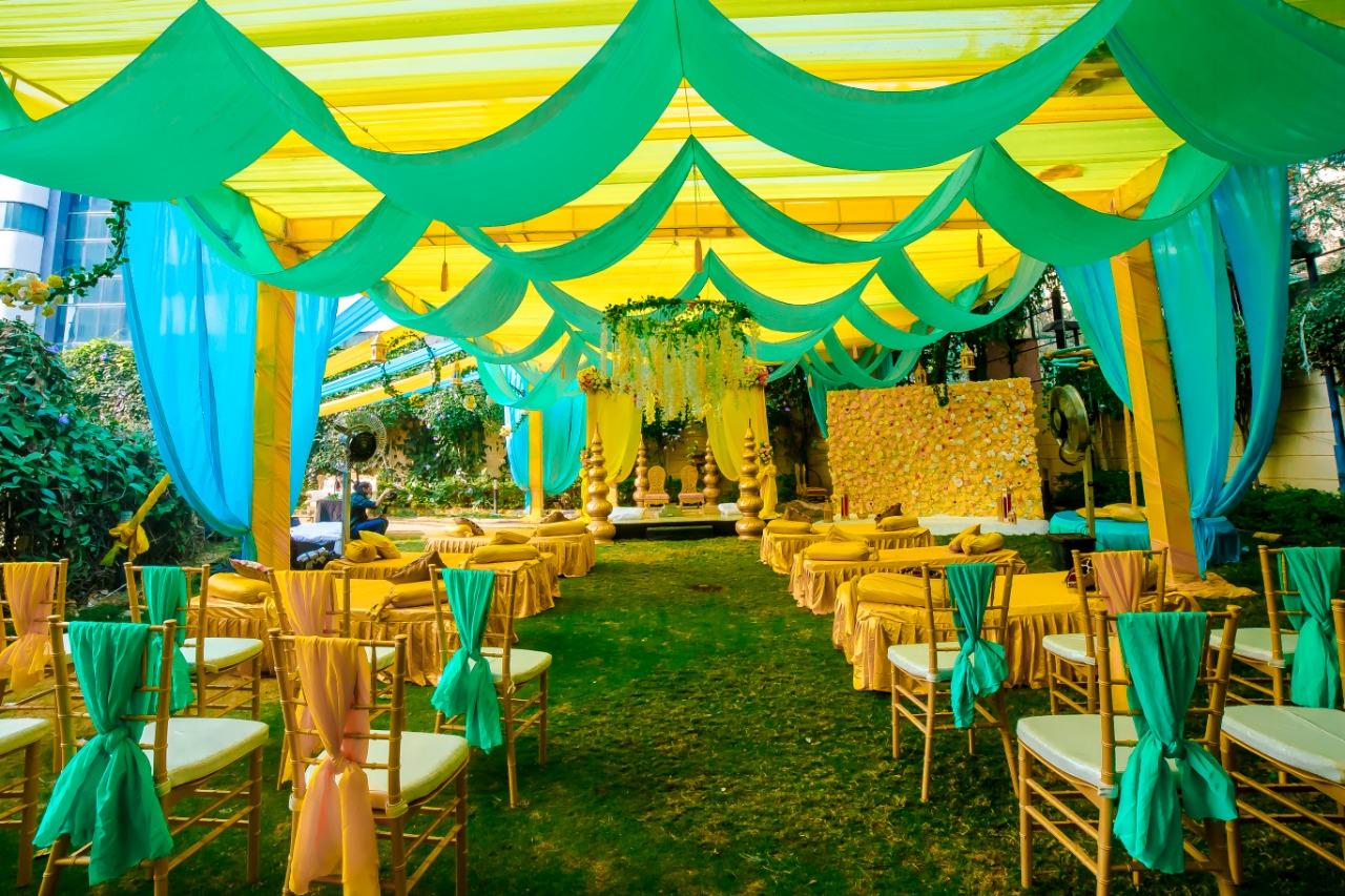 Vidhi Mandap Decor   Urban Events   weddingplannerinpune, weddingdecorater, weddingorganiser, eventplanninh, eventorgainser, eventdecorater, eventdecor, haldidecor, mehendidecor, vidhimandapdecor, weddingdecor, weddingplanning, weddingp - GL101463