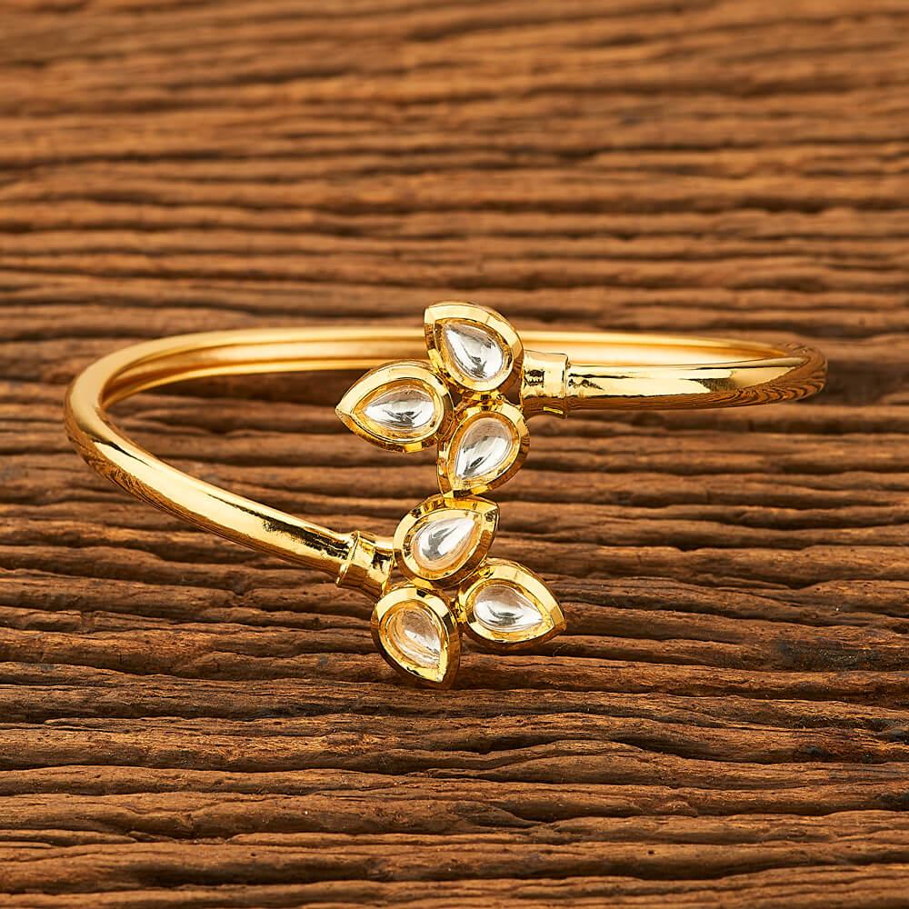 IndiHaute, kundan bracelet for sale , kundan bracelet on sarees , kundan bracelet for lehenga , kundan bracelet for ladies , kundan bracelet for latest , kundan bracelet for wedding