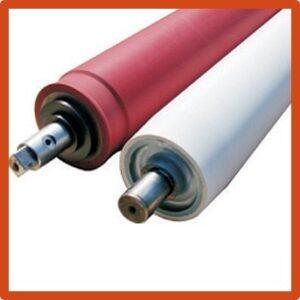 Hi Tech Rolls, Rubber Rubber in Chandigarh , Industrial Rubber Roller manufactuer in chandigarh, Rubber Roller for paper industry, Rubber Roller for pharma industry, Rubber Roller for textile industry in chandigarh