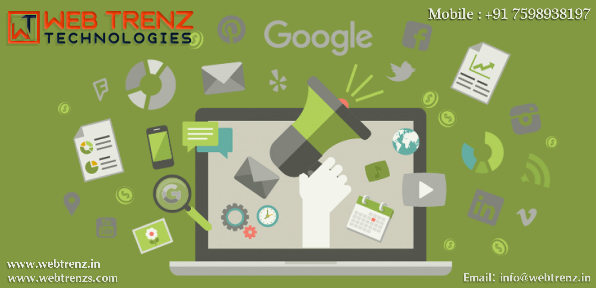 Web Trenz Technologies, Digital Marketing Company In Omr, Digital Marketing Company In Pallavaram, Digital Marketing Company In Tiruvallur