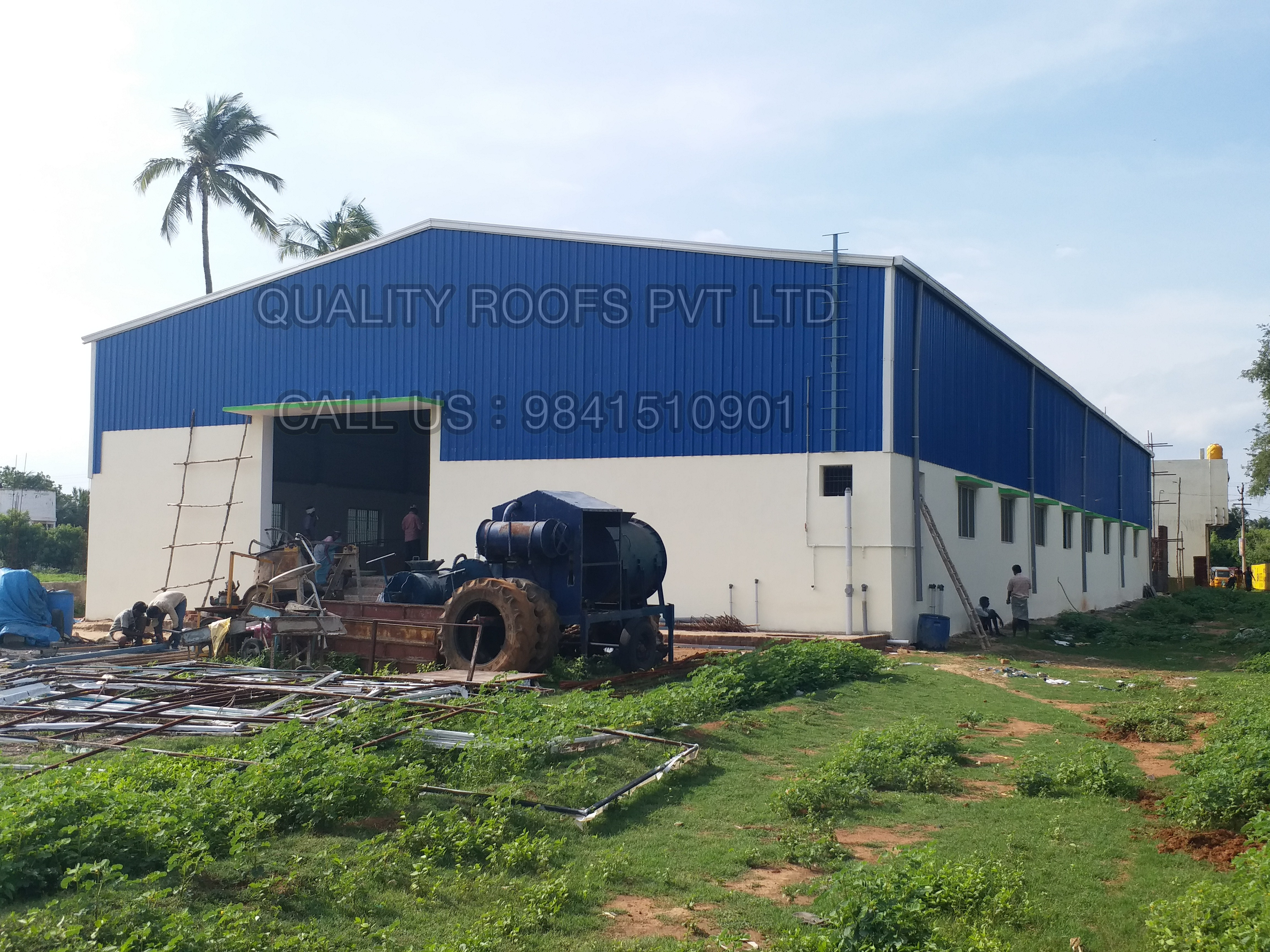 Metal Roofing Contractors In Chennai | Quality Roofs Pvt Ltd | Metal Roofing Contractors In Chennai,Industrial Roofing Contractors In Chennai,Best Roofing Contractors In Chennai,Best Roofing Fabricators In Chennai - GL57727