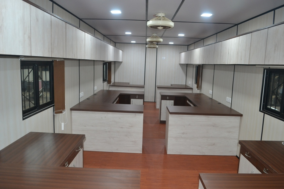 Tasmia Industries Pvt. Ltd., Portable Office Cabin Manufacturer In  Visakhapatnam, Customized Office