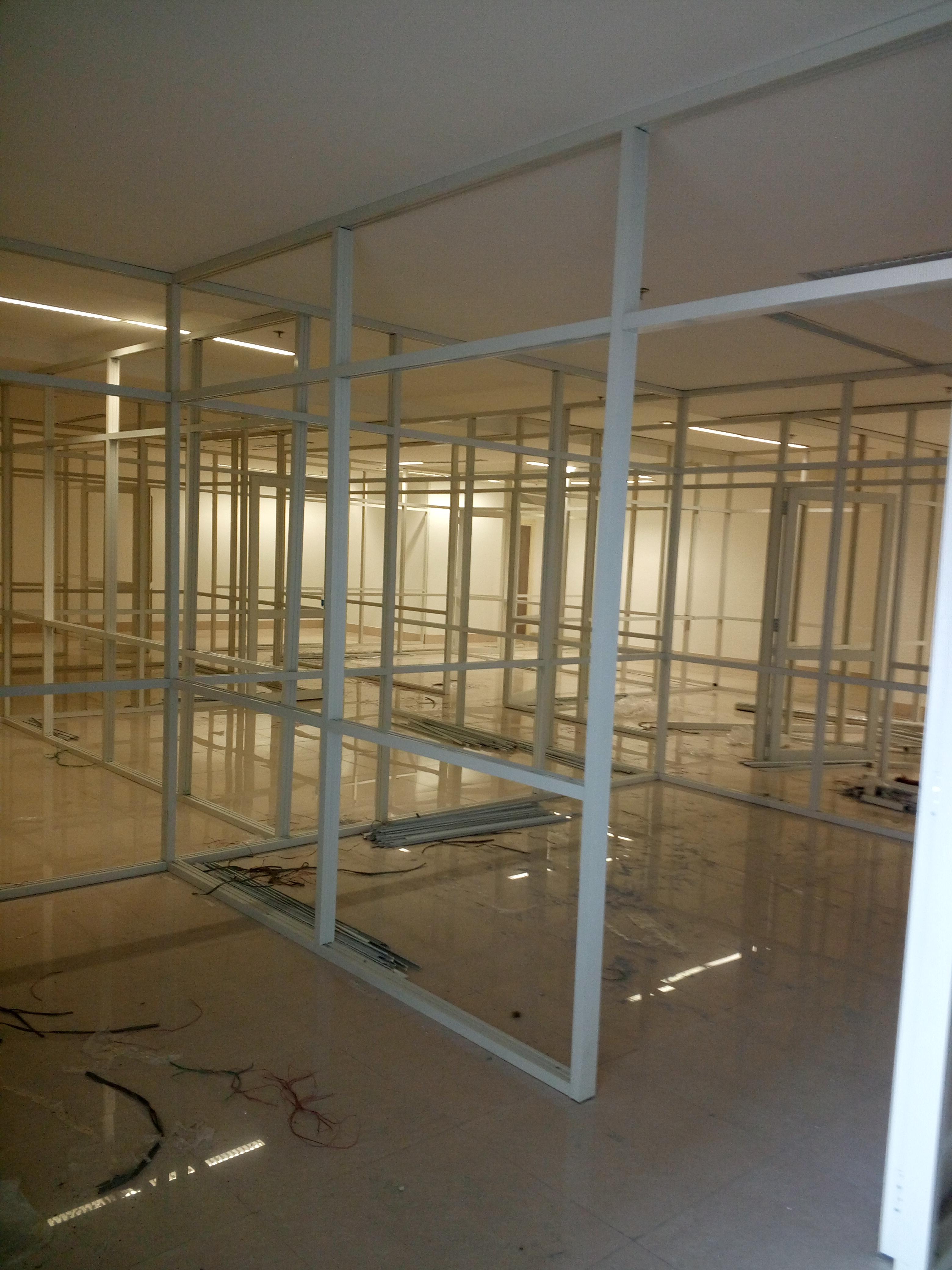 SATYAM ENTERPRISES, aluminium fabrication in chandigarh, aluminium partition in chandigarh