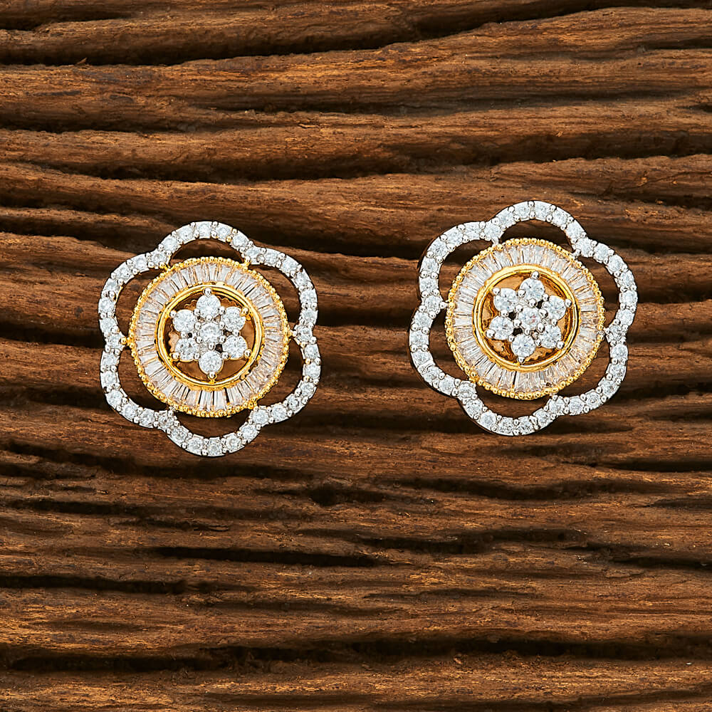 IndiHaute, flower stud earrings online in noida , flower stud earrings online shopping in noida , flower stud earrings online shaped in noida , flower stud earrings for office wear in noida