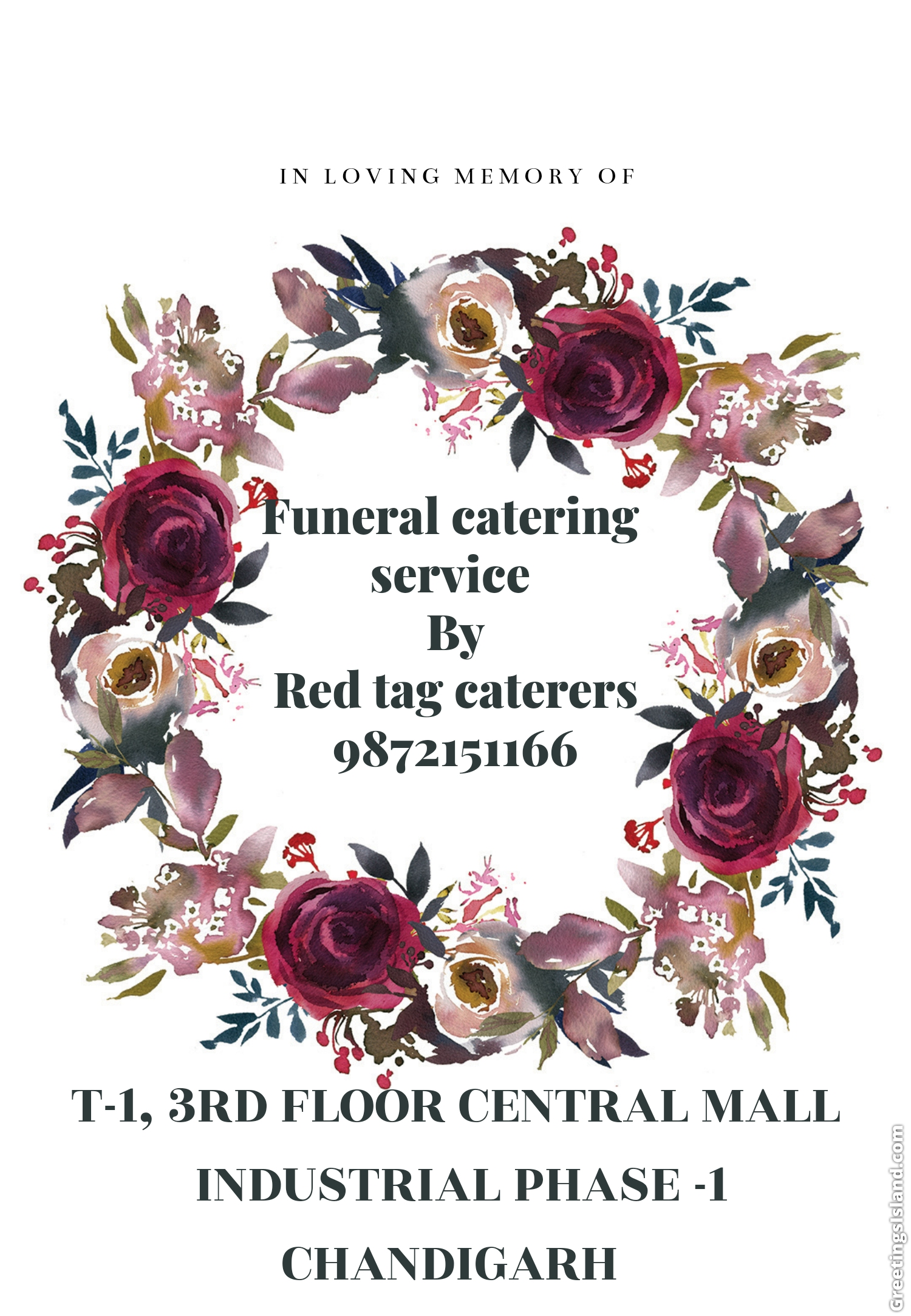 Red Tag Caterers, Funeral catering service in Derabassi, catering service in Derabassi, affordable catering service in Derabassi