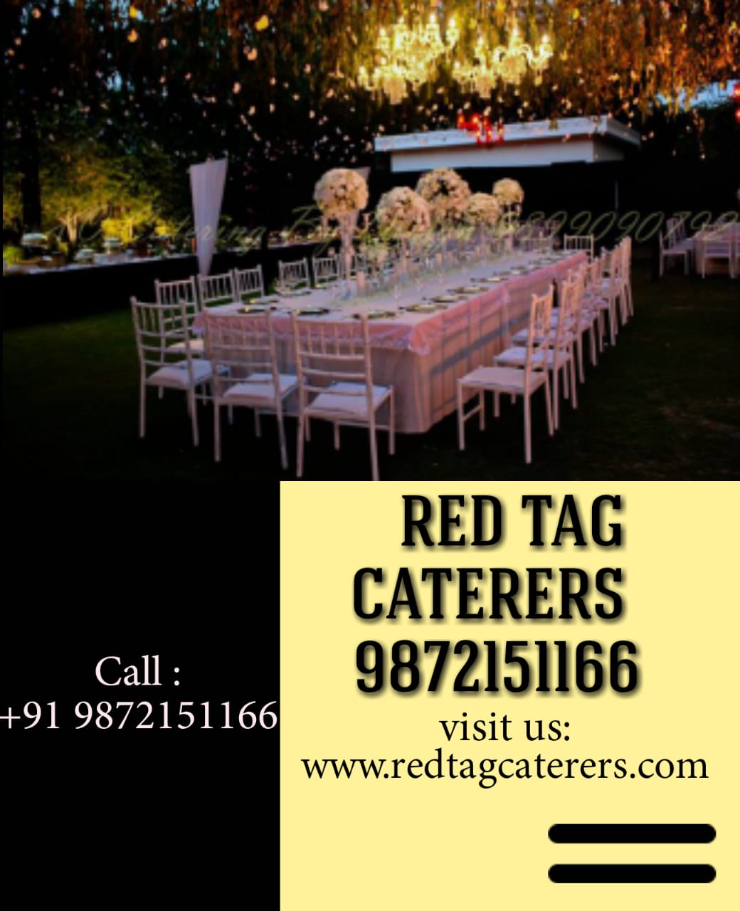 Red Tag Caterers, best catering service in mohali, top caterers in mohali, indoor and outdoor catering in mohali, corporate caterers in mohali