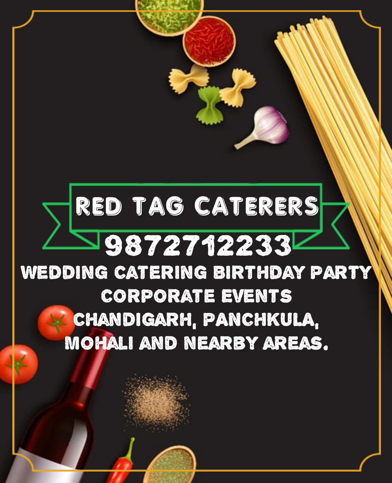 Red Tag Caterers, Best Caterers in Panchkula