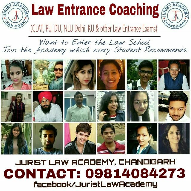 Jurist Law Academy | JURIST LAW ACADEMY | law entrance exam coaching in chandigarh, best law entrance exam coaching institute in Chandigarh, best law entrance coaching in chandigarh, jurist  - GL13118