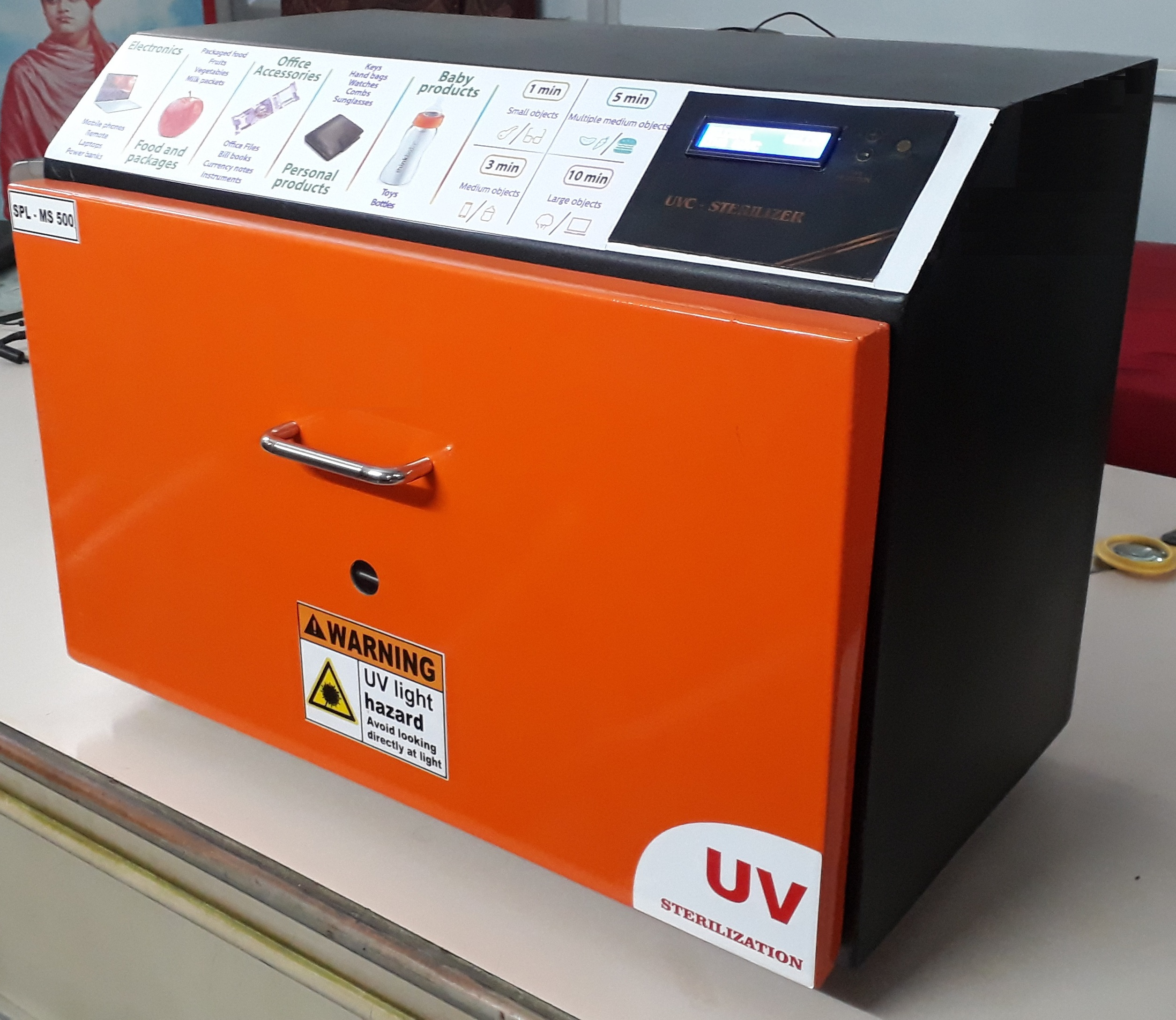Autoronica, Manufacturers and Suppliers of Automatic UV Sterilizer Chamber in Jammu, Manufacturers of Automatic UV Sterilizer Chamber in Jammu, Dealers of Automatic UV Sterilizer Chamber