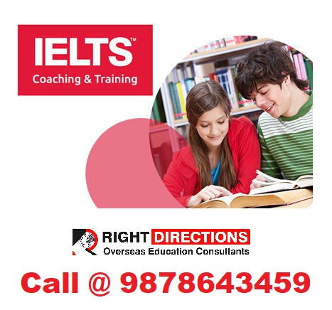 IELTS COACHING IN BANUR By : Right Directions, in City: Landran,Mohali,  Punjab, IN, Phone No.: +919878643459