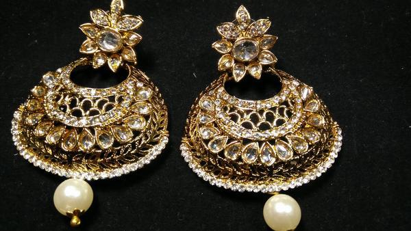 IndiHaute, earrings for lehenga choli online in patna , earrings for lehenga choli online sale in patna , earrings for lehenga choli online shopping in patna , earrings for lehenga choli for wedding in patna ,