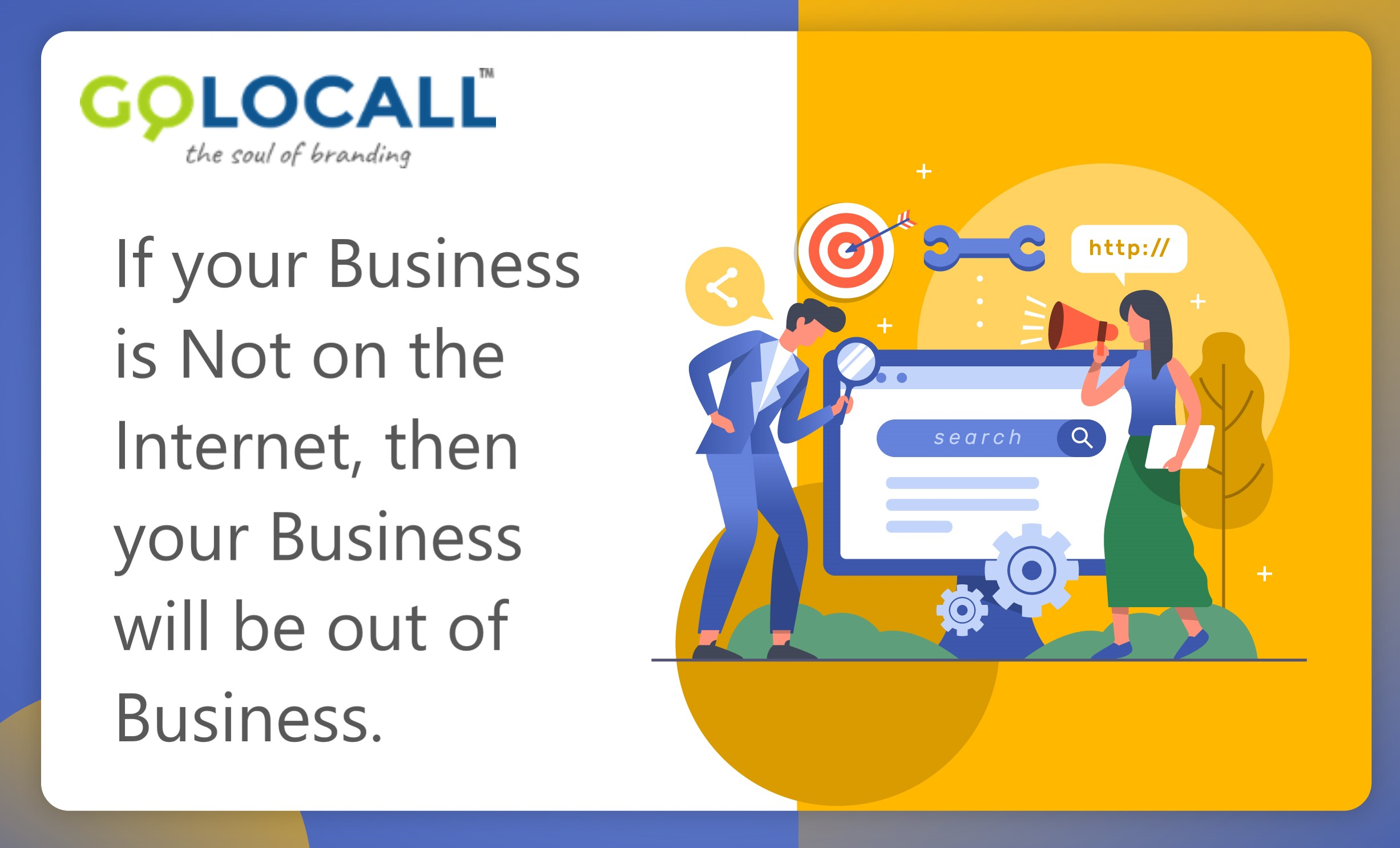 Do you still think your business doesn't require a website?  | GoLocall Web Services Private Limited | Website Promotion In Delhi, Business Promotion In Delhi, Digital Marketing In Delhi, Brand Promotion In Delhi, Online Marketing In Delhi, Web Promotion In Delhi, Digital Grow, Online Business Grow - GL44592