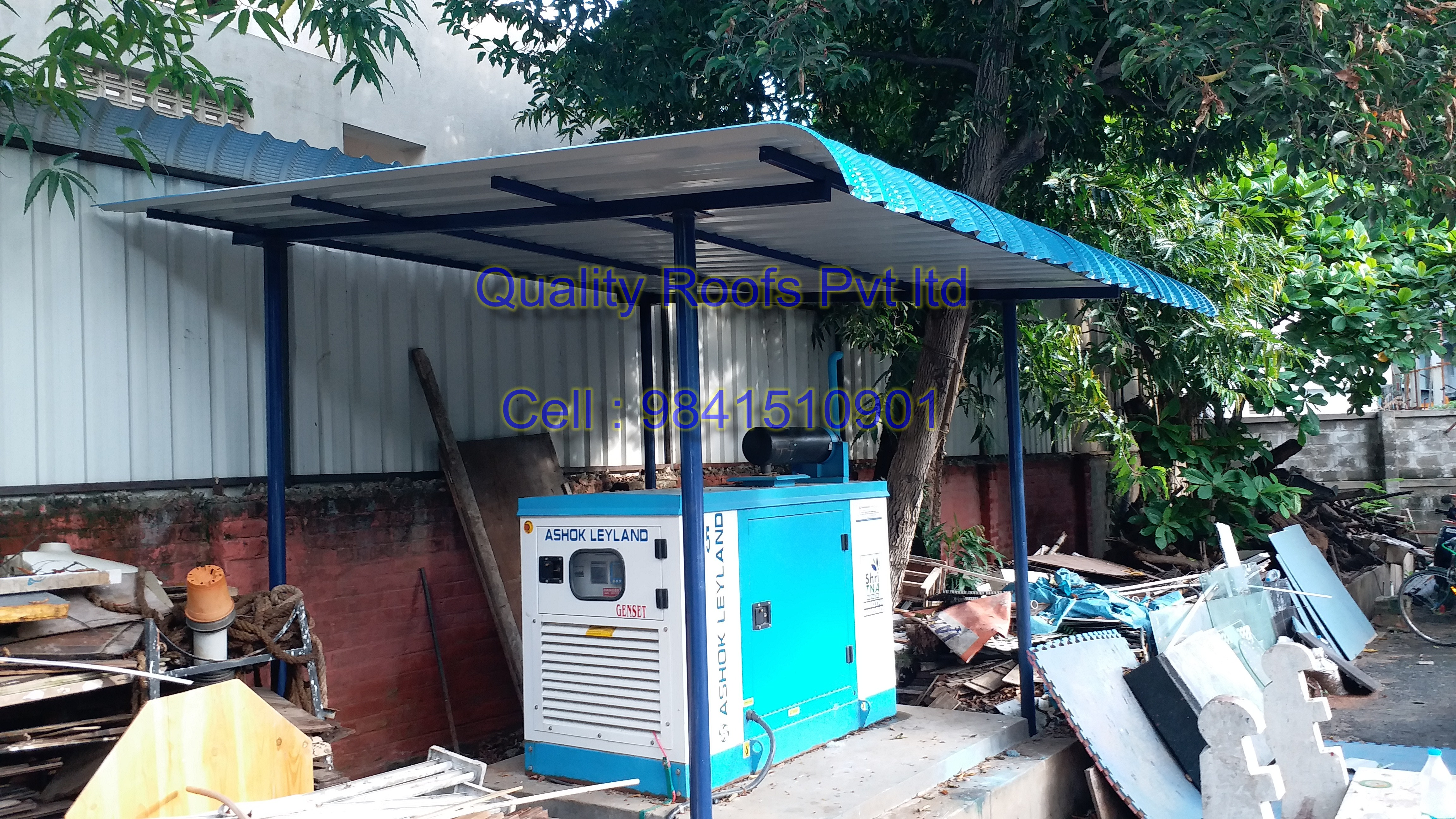 Turnkey Roofing Contractors In Chennai | Quality Roofs Pvt Ltd | Turnkey Roofing Contractors in Chennai, Metal Roofing Construction, Warehouse Shed Construction In Chennai, Metal Roofing Prices In Chennai, Badminton Roofing - GL57066