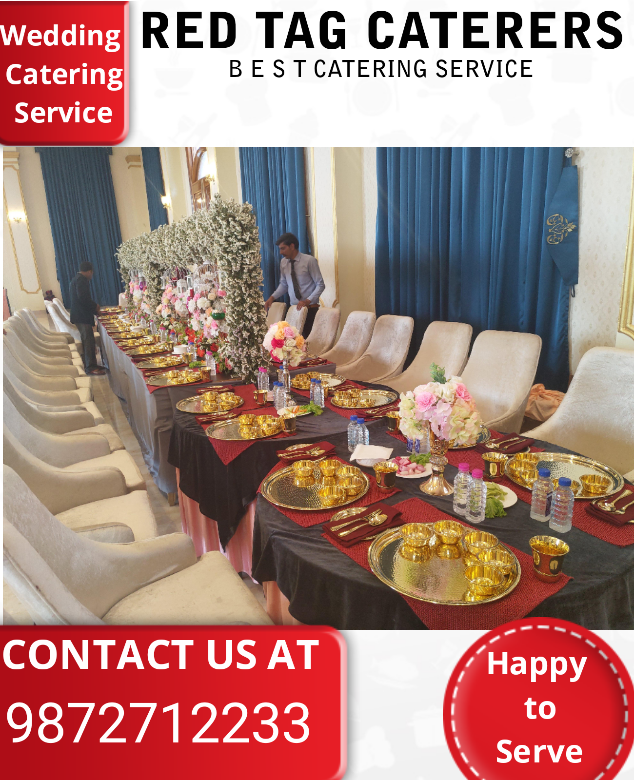 Extraordinary Caterers in Mohali Punjab | Red Tag Caterers | Best Caterers. In mohali, - GL75082