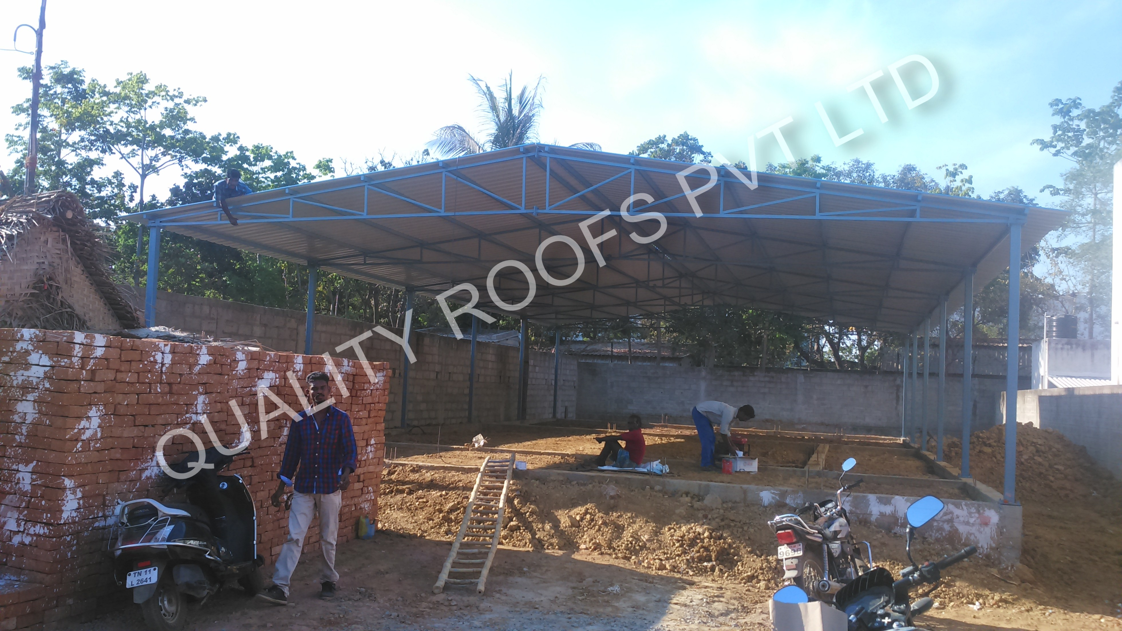 Quality Roofs Pvt Ltd, Roofing Fabricators In Chennai,Roofing Contractors In Chennai,Terrace Roofing  Contractors In Chennai,Shed Fabricators In Chennai,Best Roofing Fabricators In Chennai