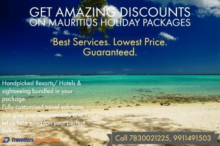 Get amazing discounts on bestselling Mauritius Holiday packages | Travellers Destination | Travel agents in laxmi nagar, Travel agency in laxmi nagar delhi, Travel Agent in Laxmi Nagar, Delhi, best travel agents from Laxmi Nagar, corporate packages for business tours in laxminagar, Delhi  - GL49888