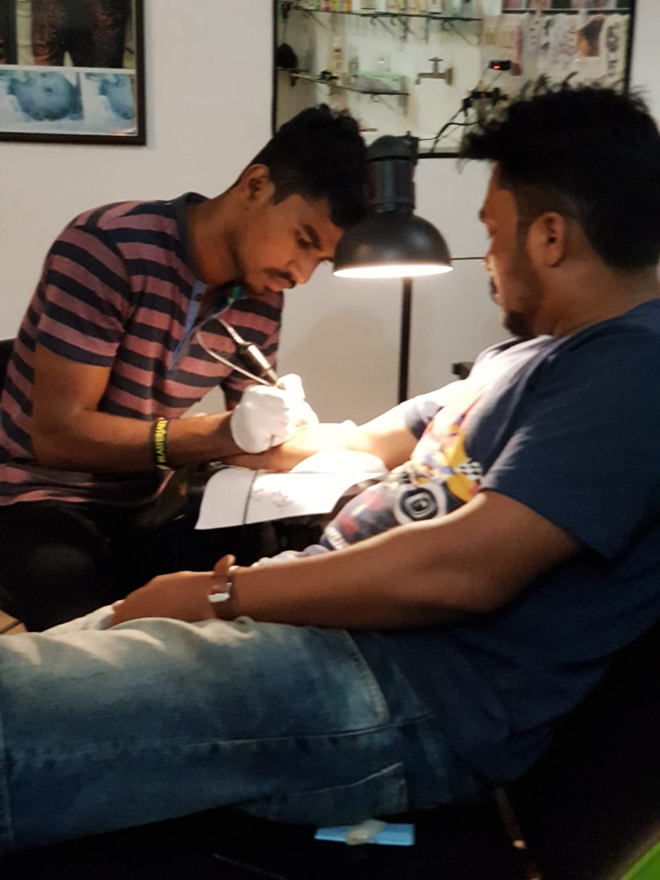 MJ Tattoos Studio & Academy, Art