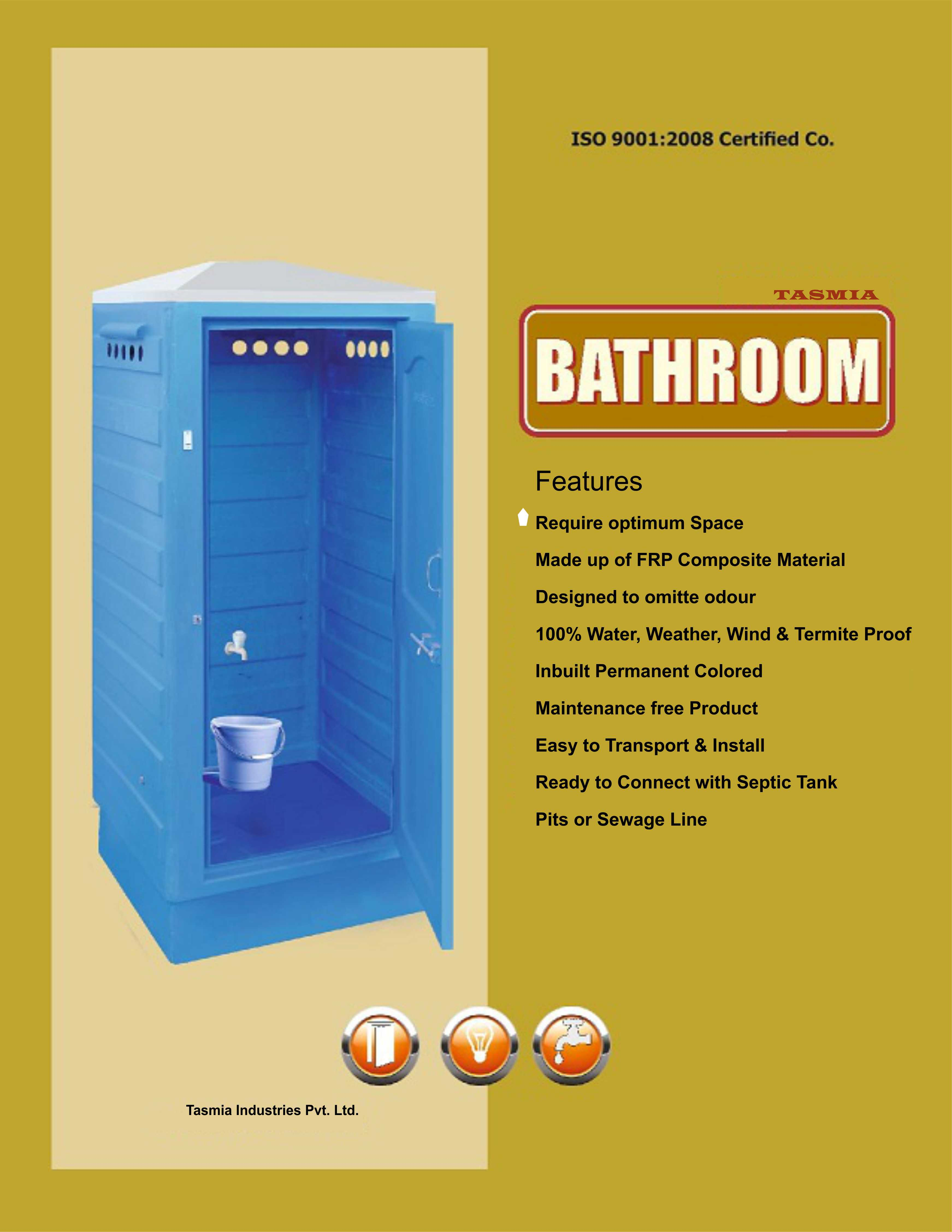 FRP TOILET CABIN, Mobile No.:7977127061 by: Tasmia Industries Pvt ...