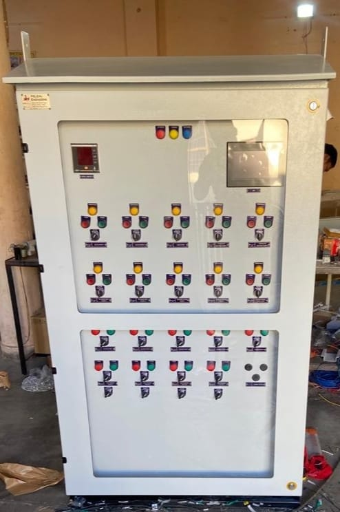 MCC CUM PLC Outdoor Panel  | Helical Engineers | Electrical panel in Mohali , Electrical Automation in Mohali  - GL99829