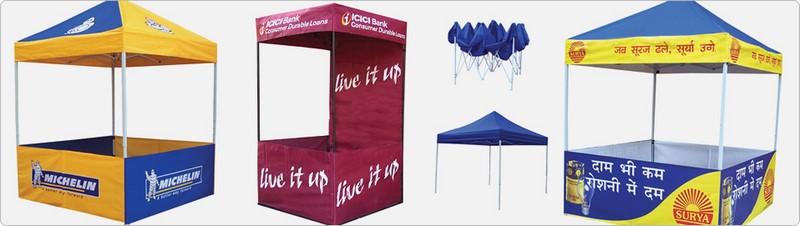 DEMO TENT | PVR LAMINATORS | demo tents in Hyderabad, advertising