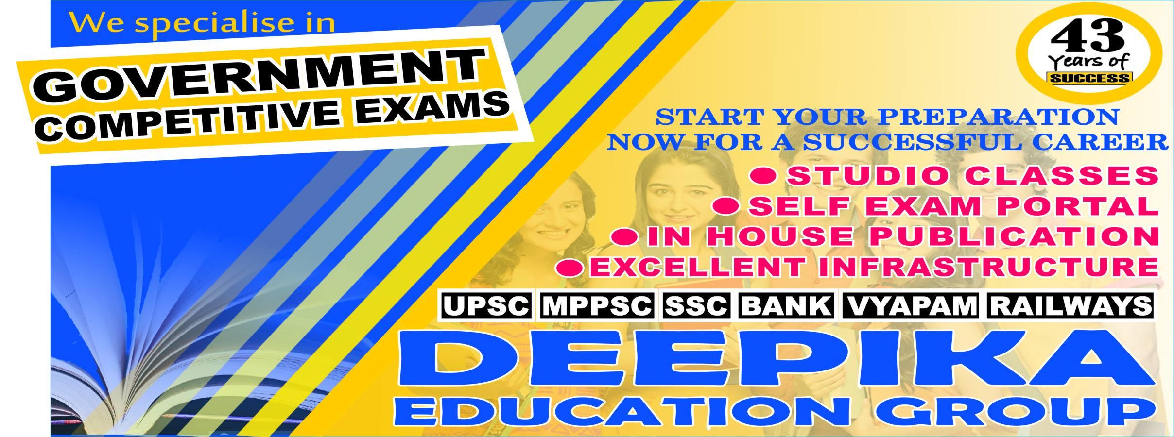 Best IAS Academy In Jabalpur | Deepika Classes | Best IAS Academy In Jabalpur, MPPSC coaching Academy in Jabalpur, best PSC coaching after 12 in Jabalpur, Civil service coaching centers in Jabalpur, UPSC coaching in Jabalpur, best UPPSC classes  - GL43735