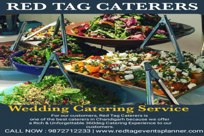Red Tag Caterers, Best caterers in Chandigarh, Famous caterer in Chandigarh,