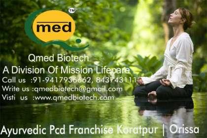 Qmedbiotech, Ayurvedic Pcd Franchise in Koratput, Ayurvedic Pcd Franchise in Kalahandi,Ayurvedic Pcd Franchise in Balangir, Ayurvedic Pcd Franchise in Sonapur,,Ayurvedic Pcd Franchise in Baleshwarr, Ayurvedic Pcd